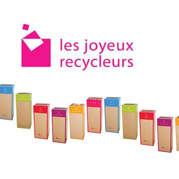 Light In Shop s'engage avec Les joyeux recycleurs